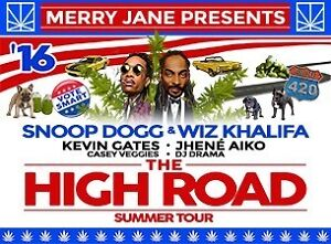 Tickets for Snoop Dogg & Wiz Khalifa