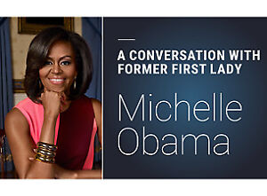 Michelle Obama is coming to #YEG