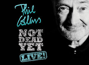 2  Phil Collins Flr Seats on the Aisle. October 11th. Discounted