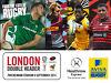 2 Tickets Twickenham Rugby Double Header Sept 6th Headington, Oxford