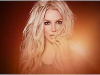 1 Britney Spears London 02 Saturday Night Ticket