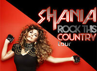 Shania Twain Tickets at the First Ontario Centre June 22 2015