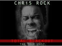 2 Tickets for Chris Rock in Glasgow on Wed 24th of Jan 2018 - £80 each