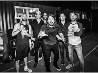 Foo Fighters Tickets x2 GA Standing Unreserved Seating