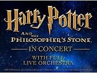ROYAL ALBERT HALL PRESENTS HARRY POTTER AND THE PHILOSOPHER'S STONE IN CONCERT 13 May 2 tickets