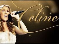 Celine Dion tickets x 2 Ruby VIP Package