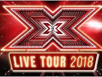 X FACTOR LIVE TOUR BOURNEMOUTH BIC 27th Feb 2018 TERRACE AA x2 Tickets