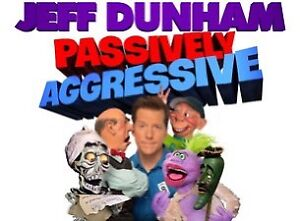 Two tickets to see Jeff Dunham in Kingston