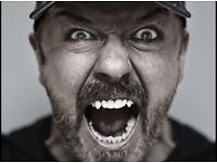 Ricky Gervais Humanity @ Liverpool Empire x2 tickets