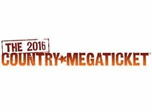 2016 COUNTRY MEGATICKET