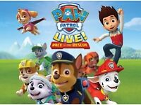 2 x Paw Patrol Tickets for Clyde Auditorium Glasgow