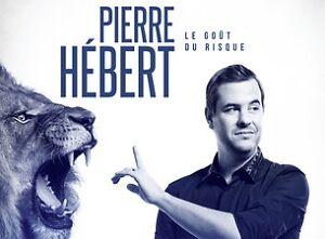 4 Billets Pierre Hebert le 6 Avril a Laval, premiere rangée(AA)
