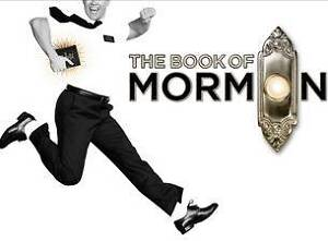 2x The Book of Mormon tickets - Gold Reserve O'Connor North Canberra Preview