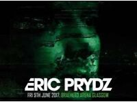 2x Eric Prydz Tickets for Braehead Arena Glasgow on Fri 9th June - Standing Tickets Face Value x2