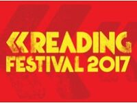 2x Reading weekend tickets