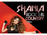 """Shania Twain 'Rock This Country"""" Tour  Friday June 12"""