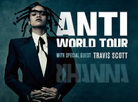 ROUGE / RED TICKET - RIHANNA ANTI WORLD TOUR - MONTREAL APRIL 6