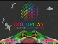 Coldplay tickete x4 cardiff