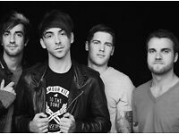 6 X ALL TIME LOW TICKETS CARDIFF UNION 11/3/2017