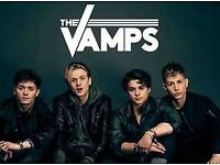 *NEAR STAGE* 2x THE VAMPS TICKETS BIRMINGHAM 4TH MAY 2018