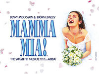 Mamma Mia The Musical 2 FRONT ROW STALLS SEATS Brighton Centre Saturday 2nd September 2017 FACEVALUE