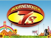 Bournemouth 7s student weekend tickets X2