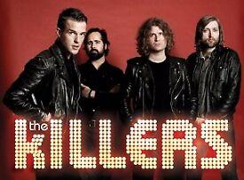 2 x The KILLERS Concert Tickets @ £100 ea - London o2 - 28 Nov