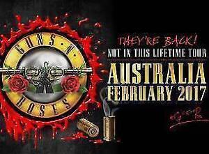 Guns 'N Roses tickets (Premium Diamond seats) City Beach Cambridge Area Preview