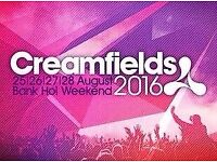 Creamfields Ticket - 3 Day Silver Camping - £150