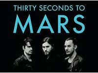 2 Tickets to 30 Seconds to Mars at the O2 Arena London 27th March