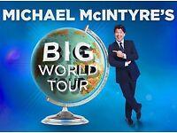 Michael McIntyre BIG WORLD TOUR TICKET