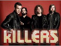 2x Killers Tickets for 02 London 28th Nov