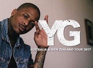 3 x General Admission YG Sydney tickets (18+) Blacktown Blacktown Area Preview