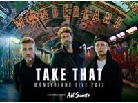 Take That standing tickets Swansea