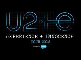 U2 Tickets x2 STANDING o2 Arena London Wednesday 24th October £499