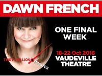 Dawn French -30 Million Minutes-Vaudeville theatre-London