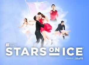 Meet and greet tickets (2) for the Stars on ice show in Montreal