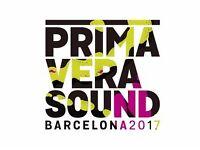 Primavera Sound 2017 full ticket