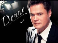 Donny Osmond Liverpool Echo Arena Sunday 29th January ( 2 tickets accessible seats )