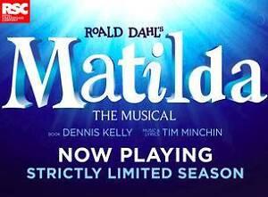 MATILDA Tickets FRIDAY NIGHT Subiaco Subiaco Area Preview
