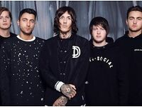 x4 Standing Bring Me The Horizon Tickets SSE Hydro (09/11/16)