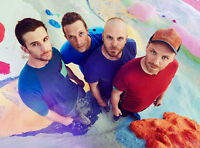 Coldplay Concert  4 Front row Tickets Aug. 21 Rogers Centre 7 PM