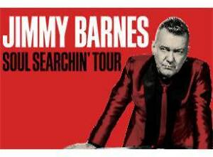 2 Tickets to Jimmy Barnes Concert Southern River Gosnells Area Preview
