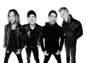4 or 2 x tix to Metallica @ Commonwealth - lower bowl
