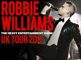 Robbie Williams Murrayfield Edinburgh 9th June Best Seated Tickets FACE VALUE