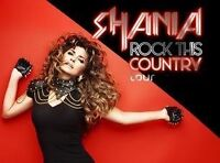 Shania Twain tickets!