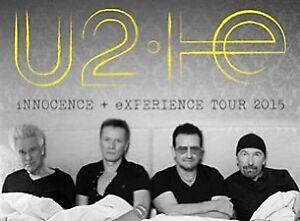 U2 360$/billet 6juin