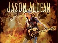 Jason Aldean with Tyler Farr and Cole Swindell TICKETS FOR SALE!
