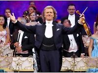 2 x Andre Rieu Tickets SSE Hydro