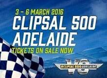 2 x Clipsal 500 Adelaide Chicane Grandstand Ticket Seaford Morphett Vale Area Preview